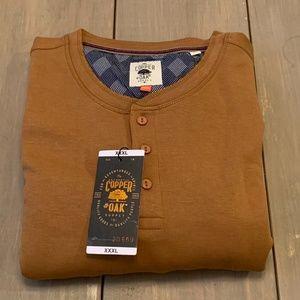 Copper & Oak Men's Long Sleeve Pullover XXXL
